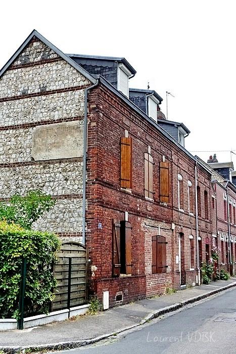 rue Béranger à Sotteville