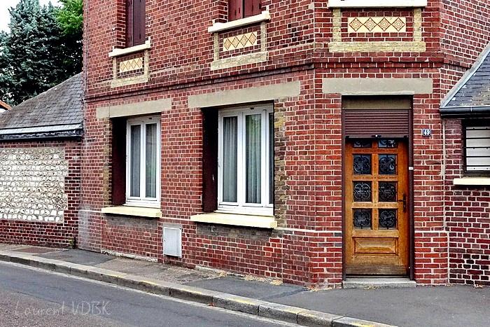 Ancien magasin rue Béranger à Sotteville