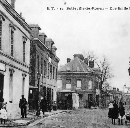 Rue Emile Zola - Sotteville-lès-Rouen