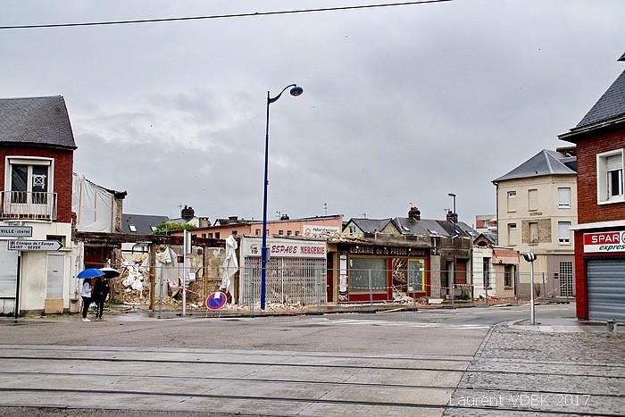 Place Voltair- démolition - Sotteville-lès-Rouen