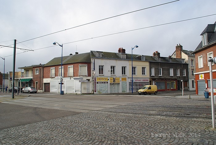 Place Voltaire avant démolition - Sotteville-lès-Rouen