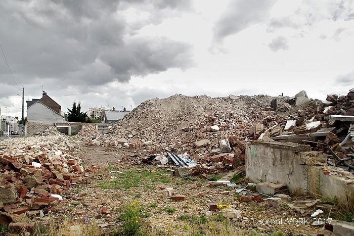 quartier Voltaire - démolition - Sotteville-lès-Rouen