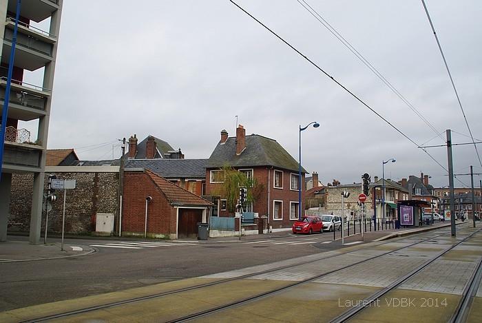 quartier Voltaire avant sa démolition - Sotteville-lès-Rouen