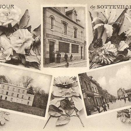 Carte postale : un bonjour de Sotteville