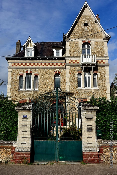 La Villa Eugénie des docteurs Delabos - Sotteville-lès-Rouen