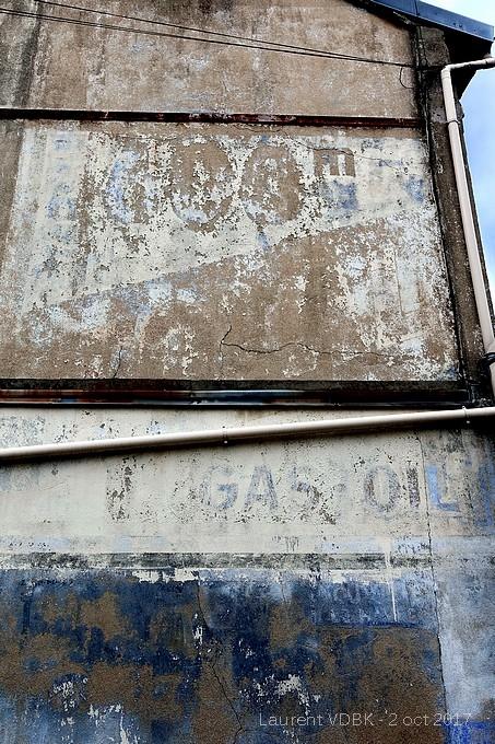 Ancienne publicité peinte sur un mur rue de Paris - Sotteville-lès-Rouen