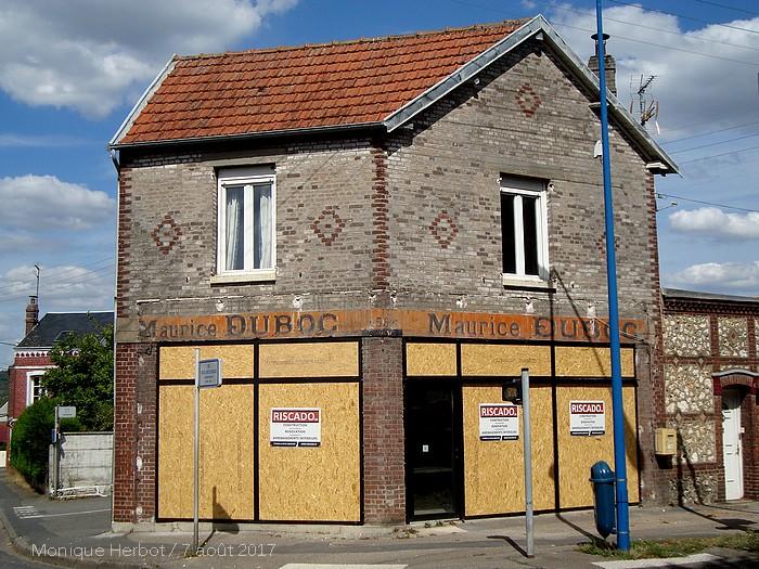 Boutique Maurice Duboc - Menuiserie Générale - 102 avenue du 14 juillet - Sotteville-lès-Rouen - Ancienne enseigne peinte