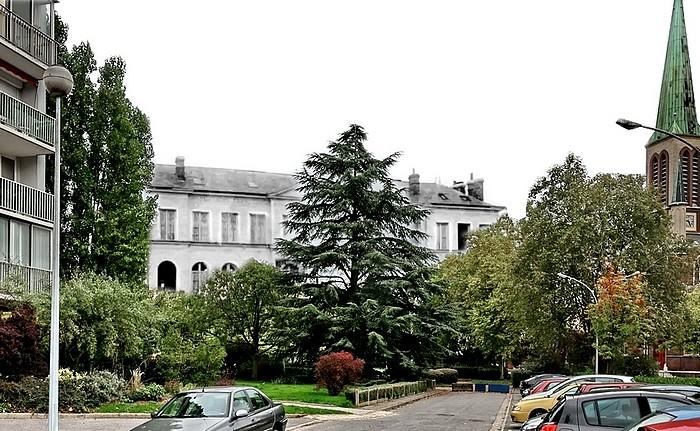 Sotteville-lès-Rouen - Rephotographie espace marcel lods
