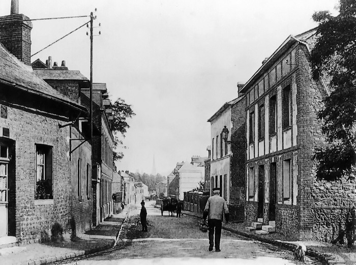 Vieille photo de la Rue Ledru-Rollin - Sotteville-lès-Rouen