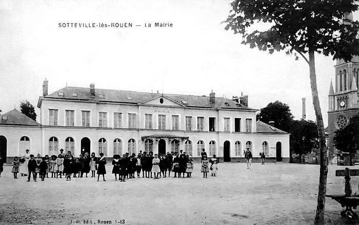Sotteville-lès-Rouen - Mairie d'avant-guerre