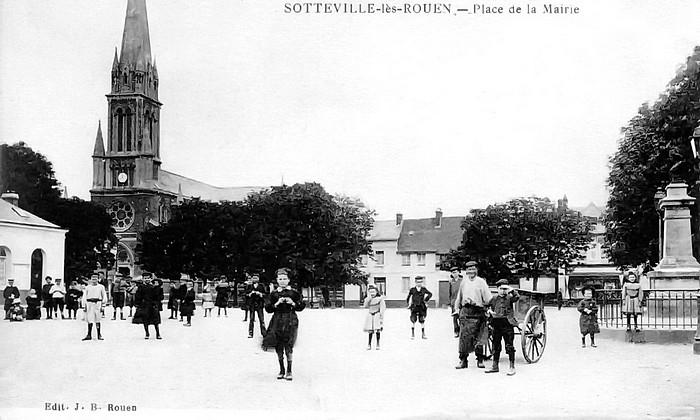 Sotteville-lès-Rouen - Place de l'ancienne mairie