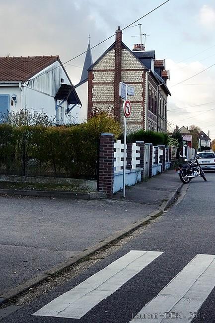 Rue de la Nation au carrefour de la rue Philippe Lanoux - Sotteville-lès-Rouen