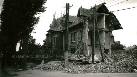 Maison bombardée - Sotteville-lès-Rouen
