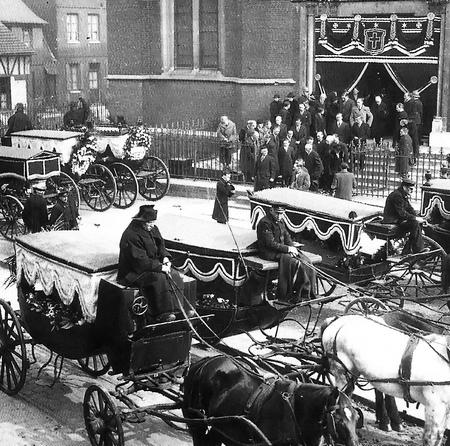 Funérailles à Sotteville-lès-Rouen