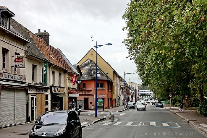Rephotographie - PlacRue Raspail - Sotteville-lès-Rouen