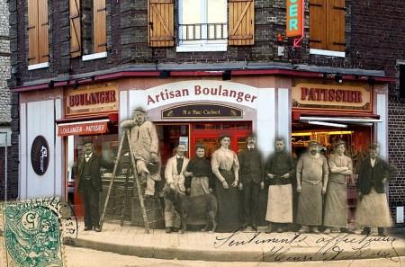 Boulangerie à l'angle de rue raspail et de la rue de paris - sotteville-lès-rouen