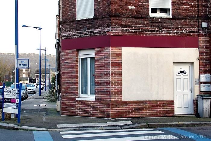 angle de rue raspail et de la rue de paris - sotteville-lès-rouen