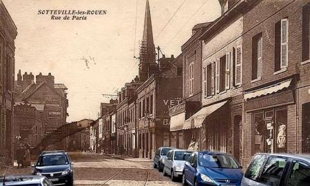 Rue de Paris - Sotteville-lès-Rouen