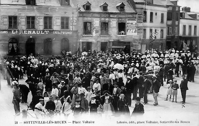 Fête place Voltaire - Sotteville-lès-Rouen