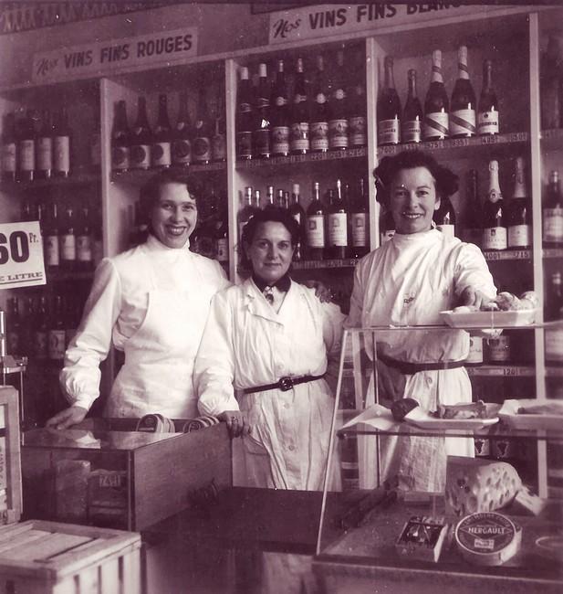 Le personnel du Coop de la rue Rugène Tilloy - Sotteville-lès-Rouen