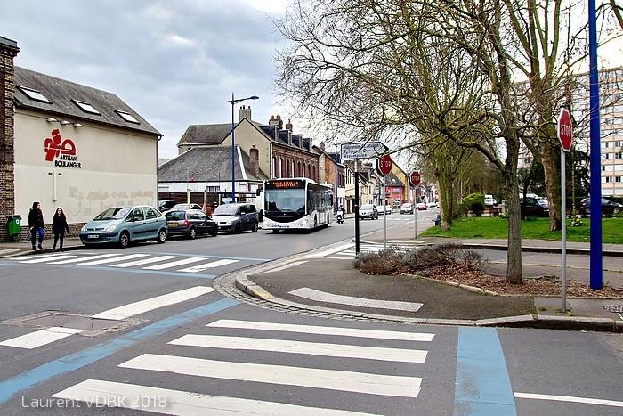 Sotteville-lès-Rouen - La rue Raspail
