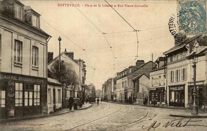 Place de la Liberté - Sotteville-lès-Rouen