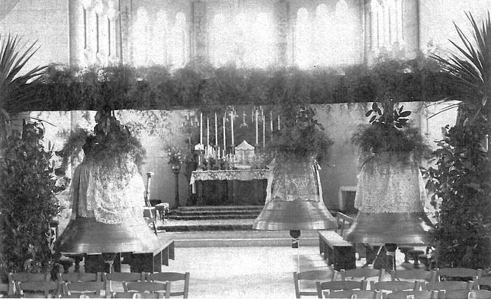 Bénédiction des cloches de l'église Notre-Dame de Lourdes