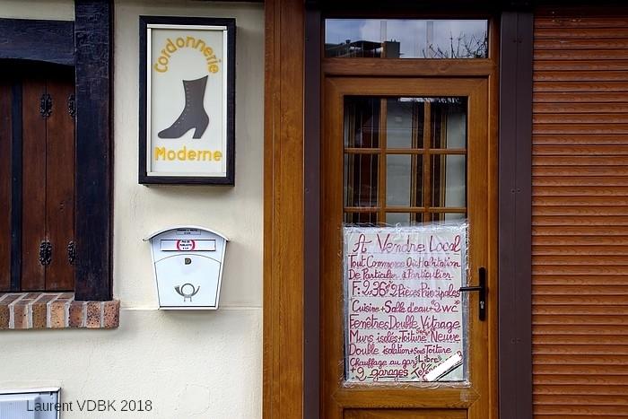 La cordonnerie de la rue Gilles Bouvier - Sotteville-lès-Rouen