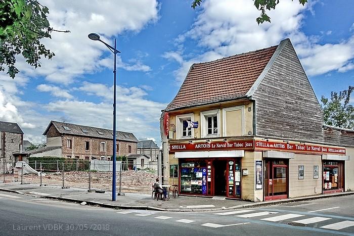 Démolition rue Raspail. Le Bar Le Narval reste seul - Sotteville-lès-Rouen