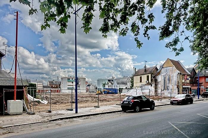 Démolition rue Raspail - Sotteville-lès-Rouen