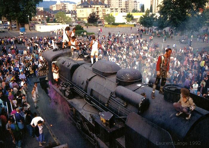 Locomotive du Bicentenaire de la révolution à Viva-Cité 1992 - Sotteville-lès-Rouen