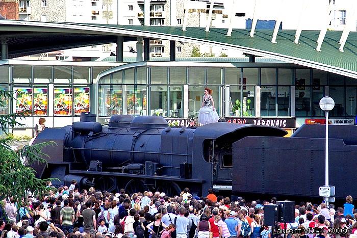 Locomotive du Bicentenaire de la révolution à Viva-Cité 2009 - Sotteville-lès-Rouen