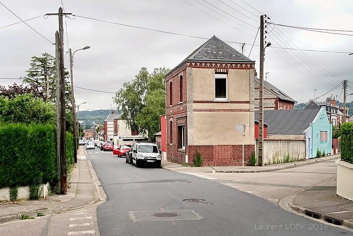 Angle rues Béranger et Arthur Duval - Sotteville-lès-Rouen