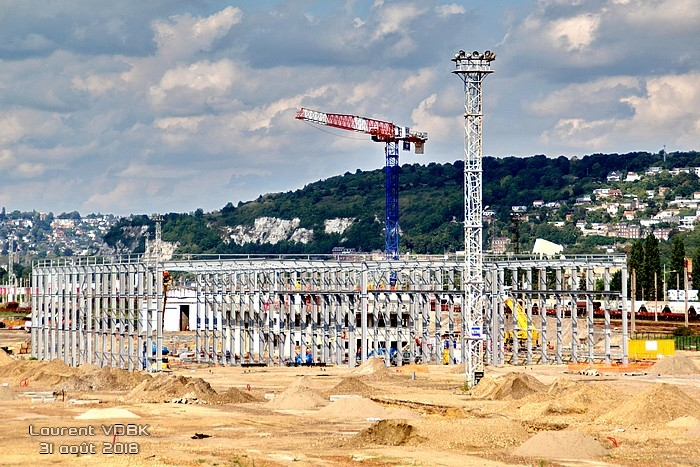 Construction nouvel atelier de maintenance SNCF - Sotteville-lès-Rouen