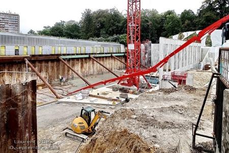 Construction gymnase Marcel Sembat - Sotteville-lès-Rouen