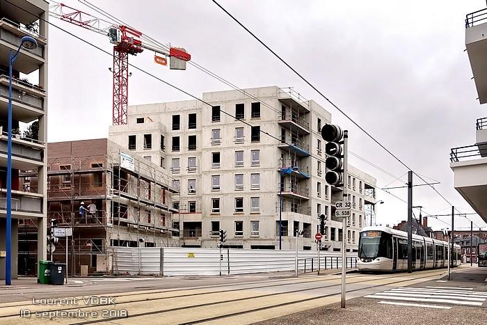 Construction quartier Voltaire - Sotteville-lès-Rouen