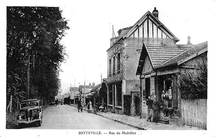 Rue du Madrillet - Sotteville-lès-Rouen - Saint Etienne du Rouvray