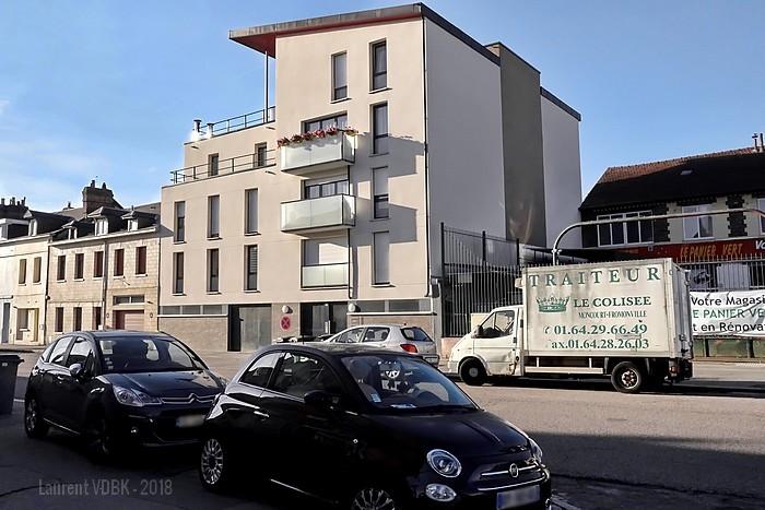Résidence Louise Alcan rue Pierre Corneille à Sotteville-lès-Rouen