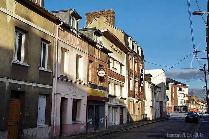 rue de la république - hotel voltaire - Sotteville-lès-rouen
