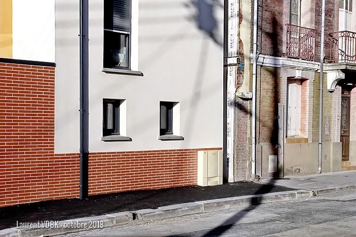 rue de la république - hotel voltaire - résidence Berty Albrecht - Sotteville-lès-rouen