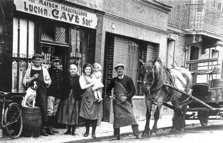 rue de la république - café cavé - hotel voltaire - résidence Berty Albrecht - Sotteville-lès-rouen