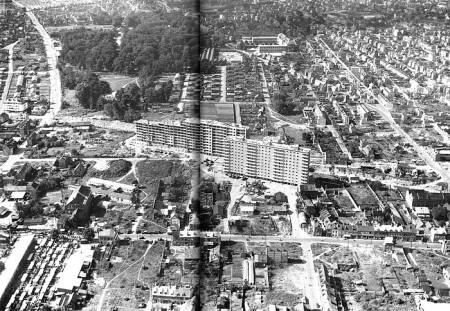 Reconstruction Zone Verte Sotteville-lès-Rouen 1951