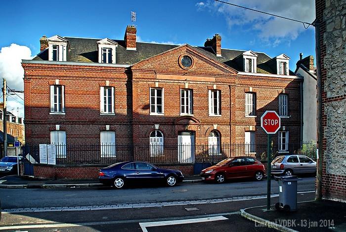 Ancienne gendarmerie rue Victor Hugo à Sotteville-lès-Rouen