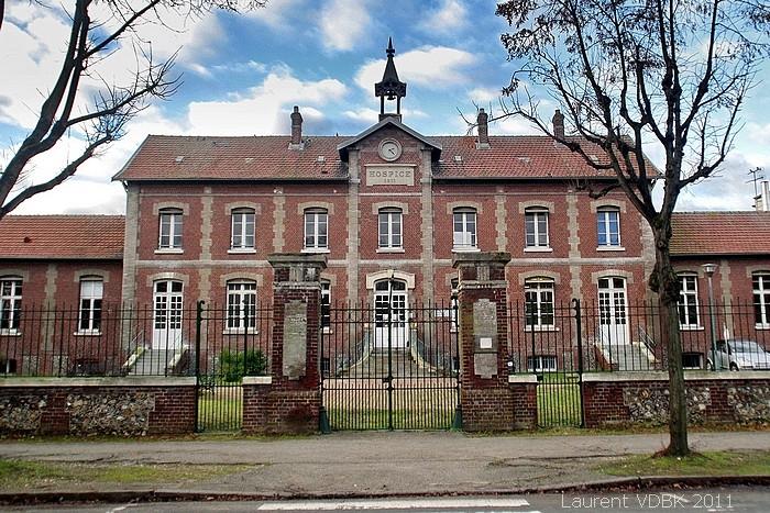 """Centre Hospitalier du Bois Petit, bâtiment historique """"Pacific Vapeur"""" - Sotteville-lès-Rouen"""