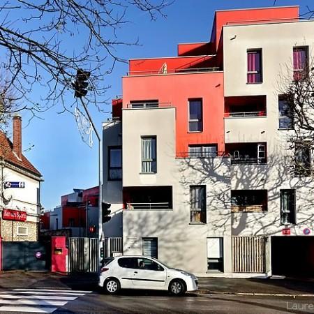 La Résidence Olympe de Gouges, avenue du 14 juillet à Sotteville-lès-Rouen