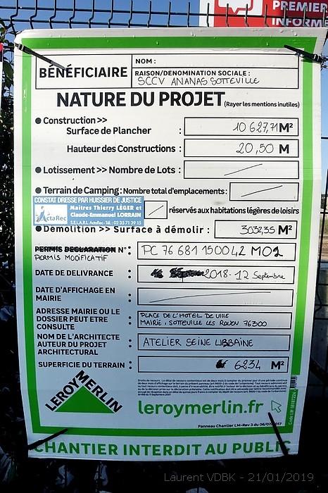 Permis de construire à Sotteville-lès-Rouen