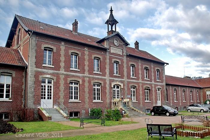 """Centre Hospitalier du Bois Petit, bâtiment """"Pacific Vapeur"""" - Sotteville-lès-Rouen"""