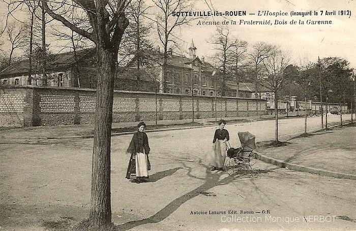 L'hospice civil - Sotteville-lès-Rouen