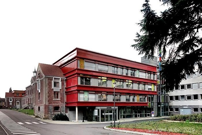 """Le bätiment historique du centre Hospitalier du Bois Petit rénové """"L'orée du Bois"""" - Sotteville-lès-Rouen"""