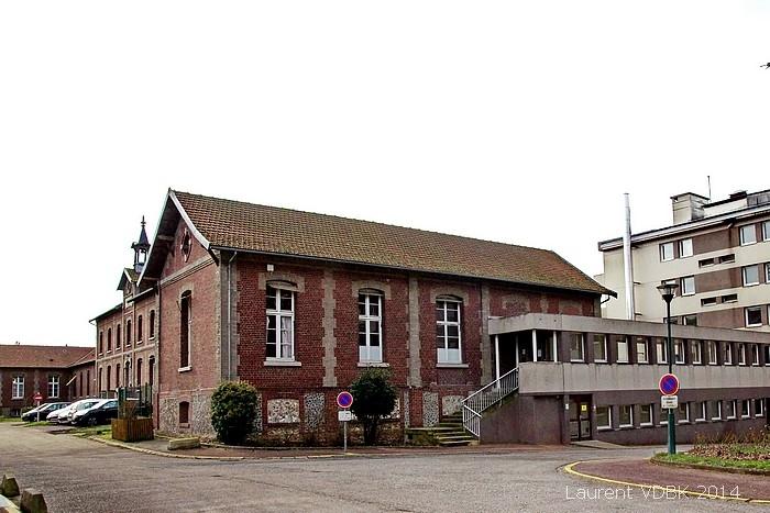 Le bätiment historique du centre Hospitalier du Bois Petit - Sotteville-lès-Rouen